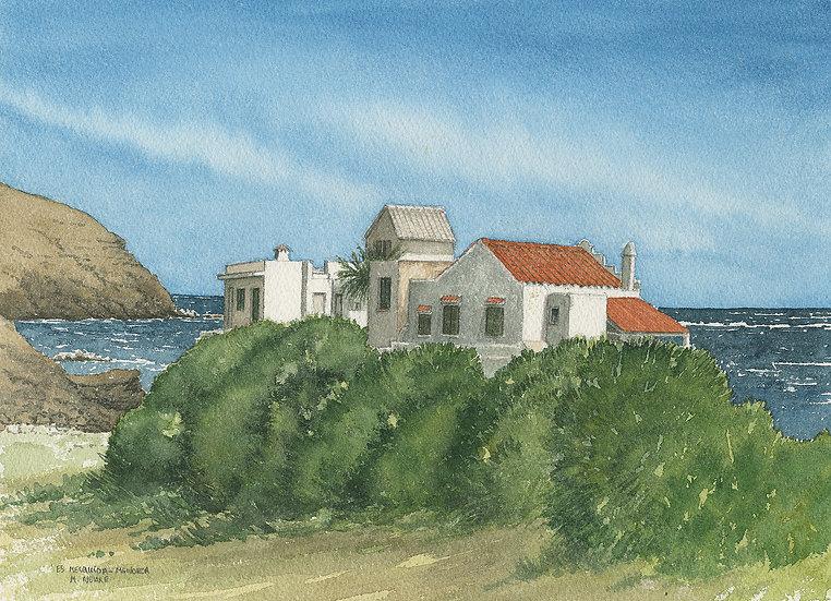 Traditional houses, Mesquida, Menorca.