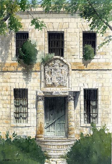 Old Doorway-La Mola-Menorca.