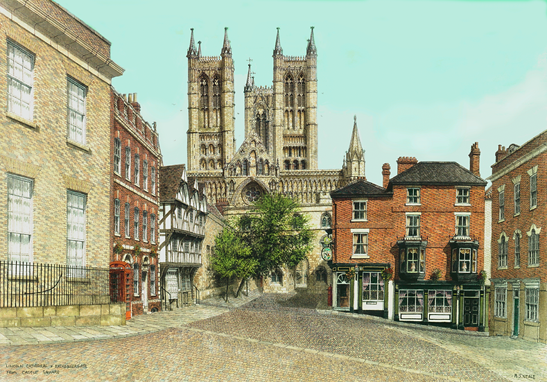 LincolnCathedral from Castle Square