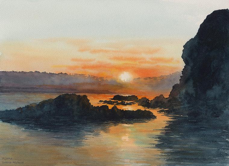 Sunrise Mesquida, Menorca.