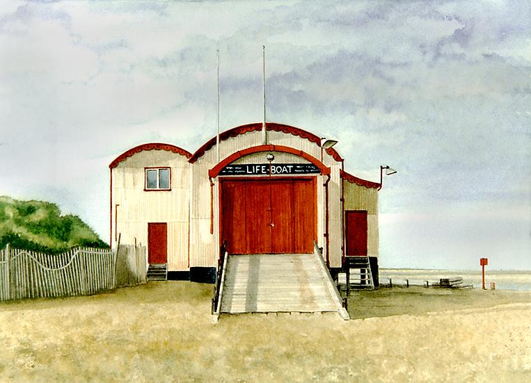 Life boat house, Wells-next-Sea.