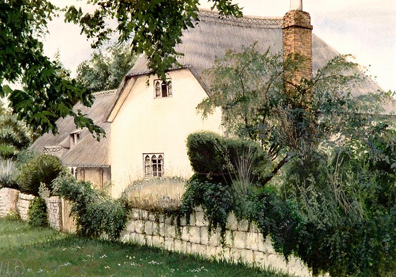 Granny's cottage, Corfe.