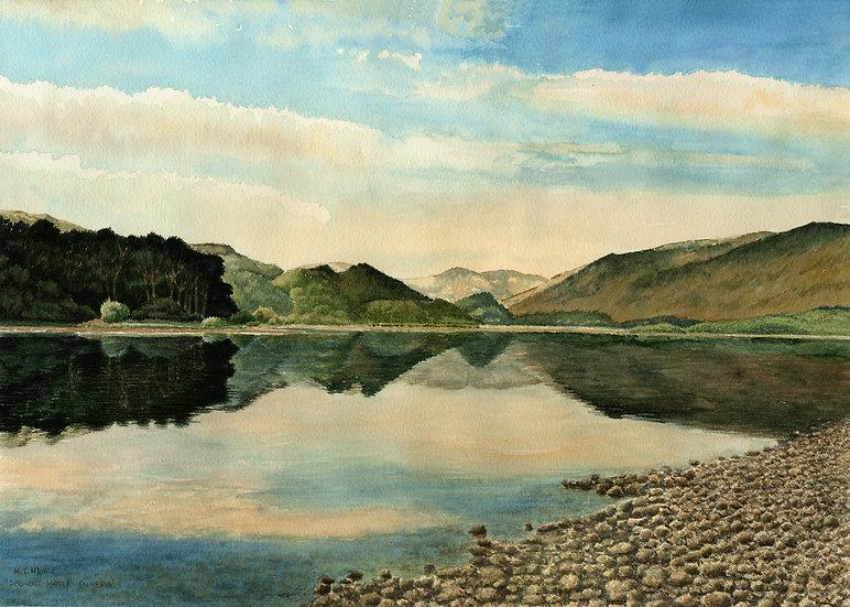 Derwent Water, The Lake District .