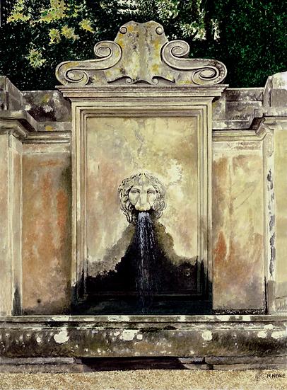 The Lion's Head Fountain-BeltonHouse