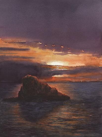 Sunset- Far de Cavalleria-Menorca