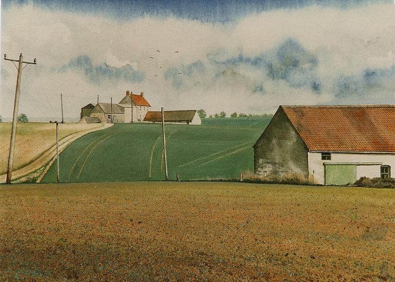 Farm Houses, Branston, Lincolnshire.