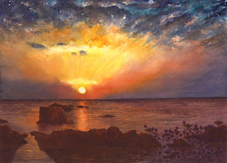 Sunrise 2, Mesquida, Menorca.