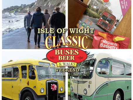 Classic Buses Beer and Walks Weekend, known locally as 'Beer and Buses'