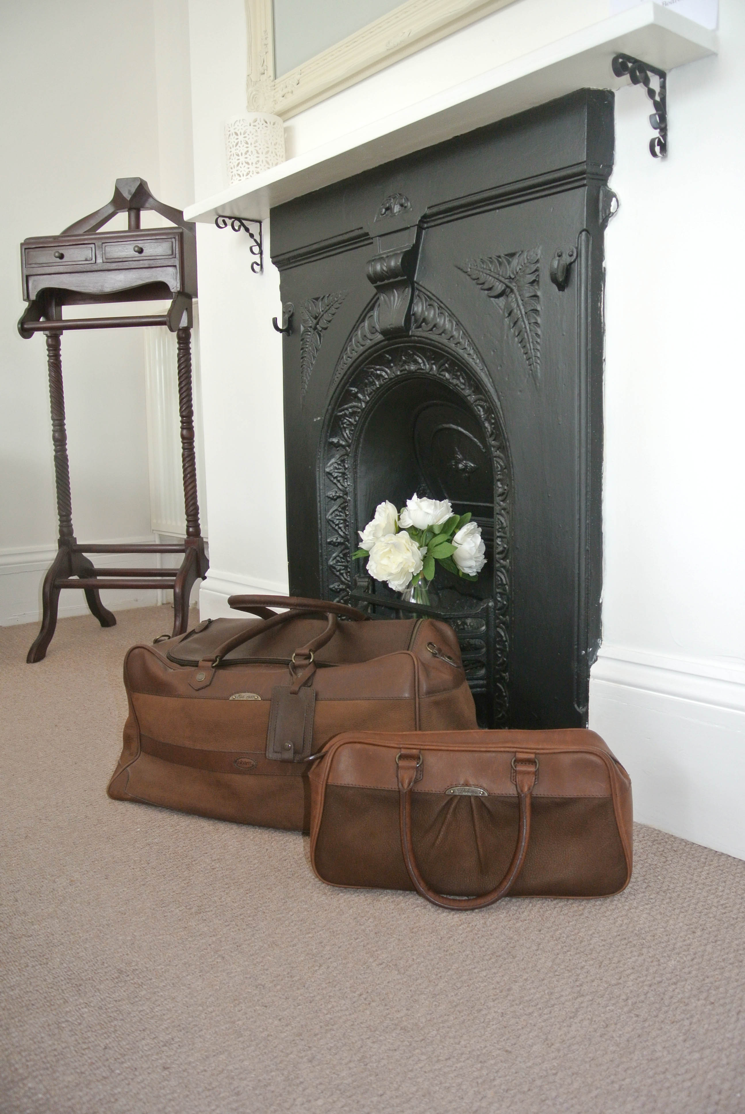 Dubarry luggage in Albacore Room