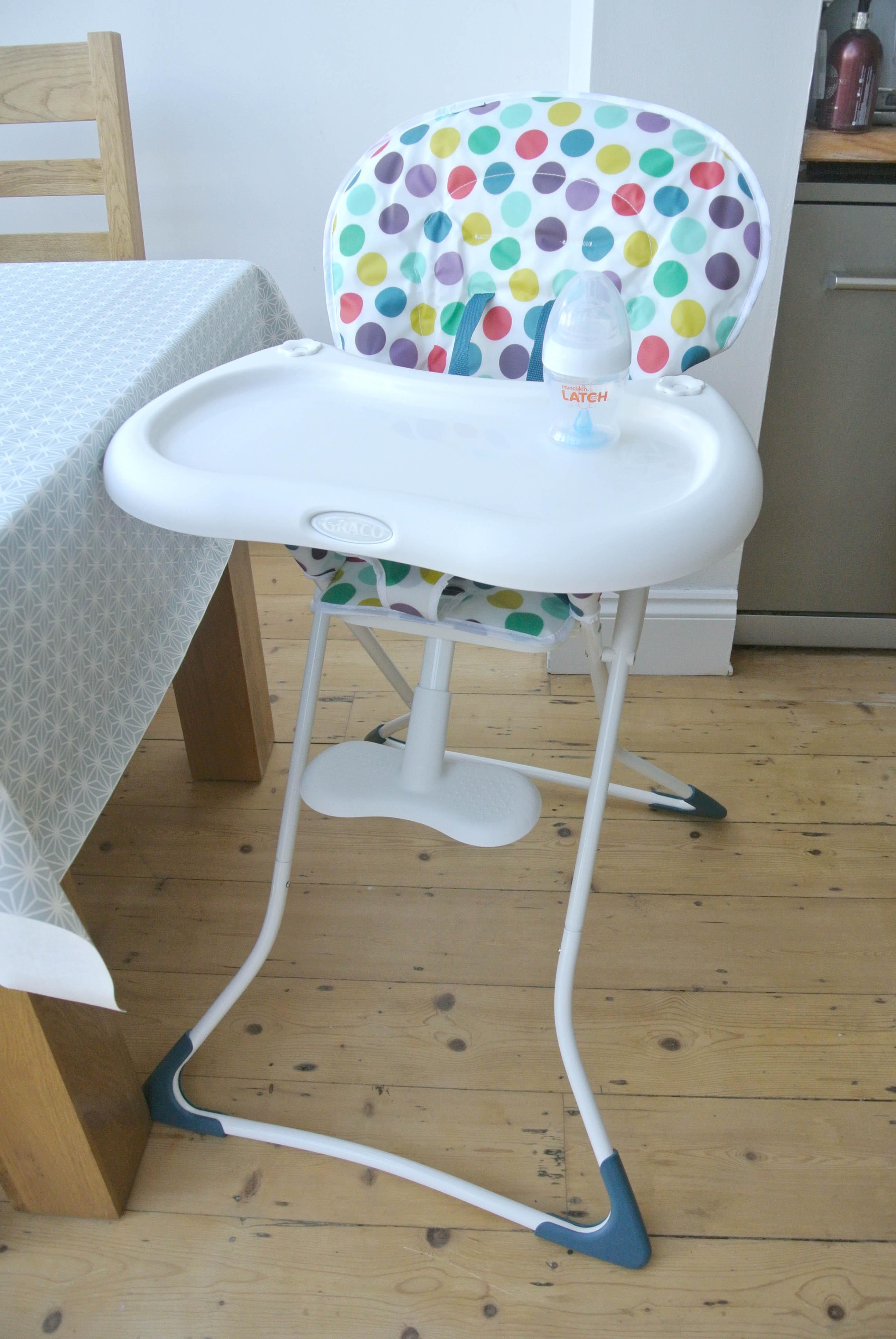 Graco teatime high chair