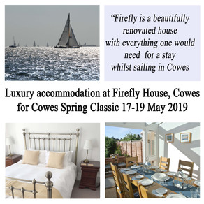 Cowes Spring Classics regatta - accommodation near Shepards Marina