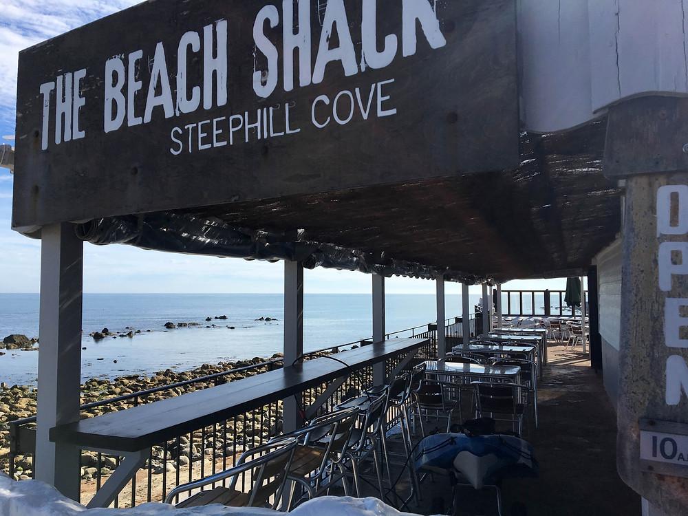Beach Shack Steephill Cove