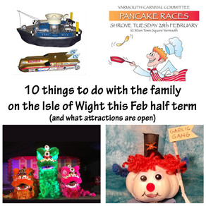 10 things to do on the IOW this February half term 2018