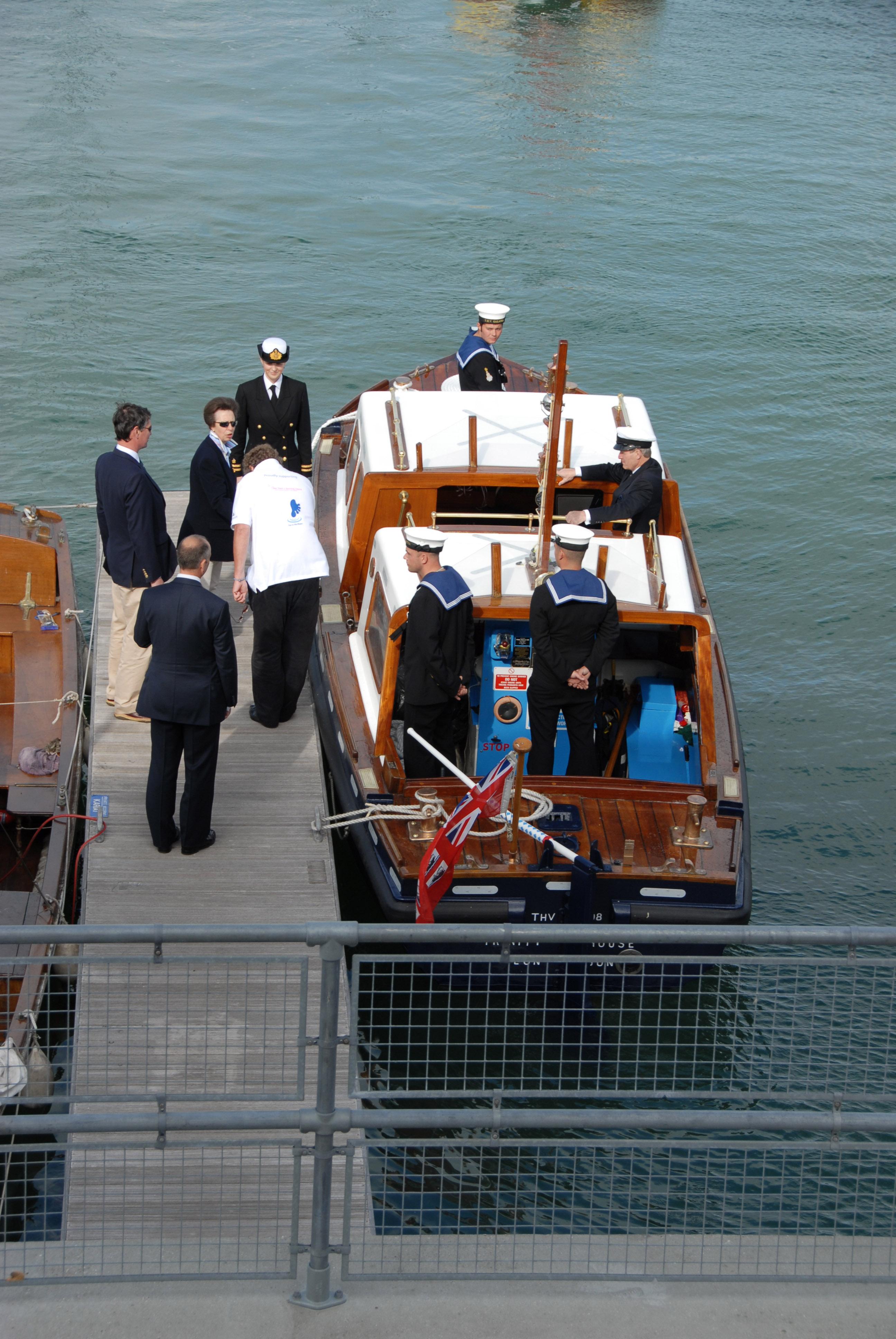 Princess Anne Cowes Week 2008