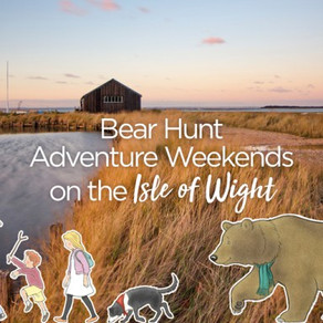 We're going on a Bear Hunt on the Isle of Wight!