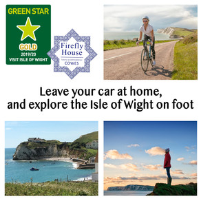 Visit Isle of Wight - Green Star Travel Scheme - Gold Status at Firefly House, Cowes