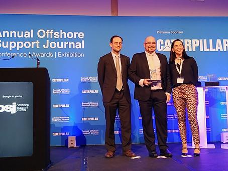 We WON the OSJ Innovation Award!