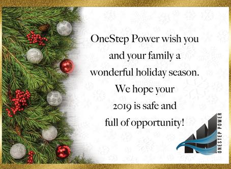 Wishing you a wonderful holiday season!
