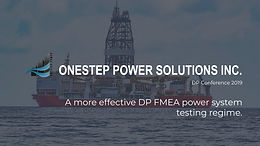 A more effective DP FMEA power system testing regime presentation