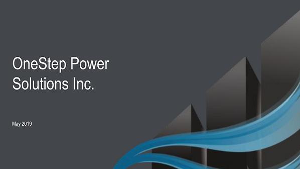 OneStep Power DP Asia 2019