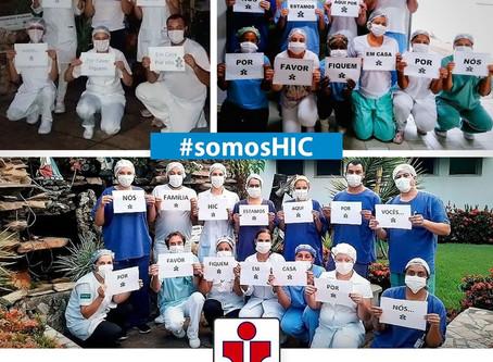 Todos os profissionais da saúde estão vivenciando a sua maior missão: salvar vidas!