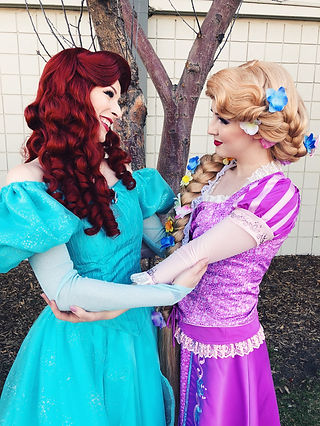 Rapunzel and Little Mermaid Princess