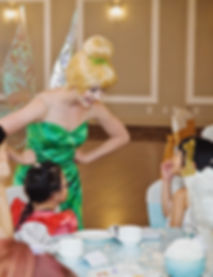 Tinkerbell at our Enchanted High Tea