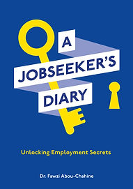 A Jobseeker's Diary - Cover design eVers
