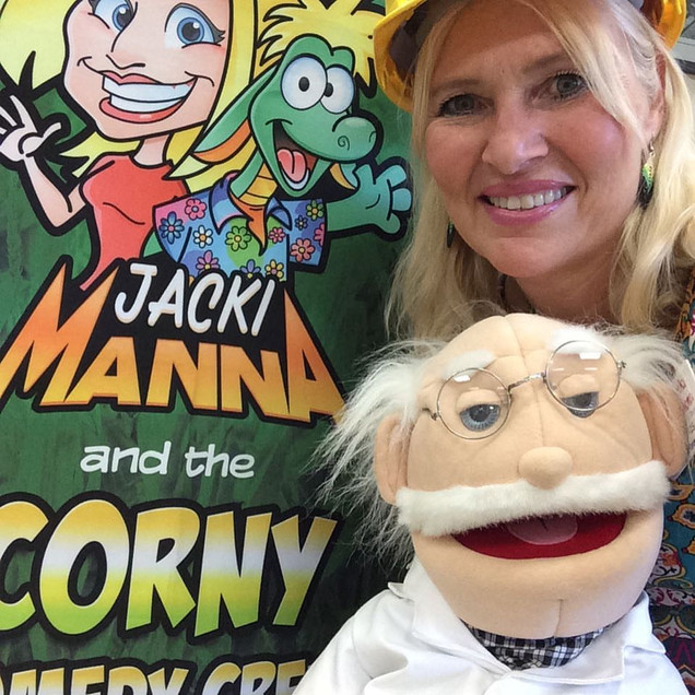 Jacki Manna the Ventriloquist