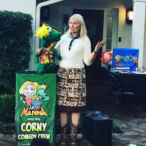 Jacki Manna the Ventriloquist