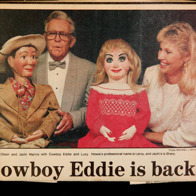 Howie Olson and Cowboy Eddie