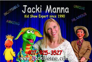 Jacki Manna Ventriloquist, Magician, Face Painter, Balloon Twister