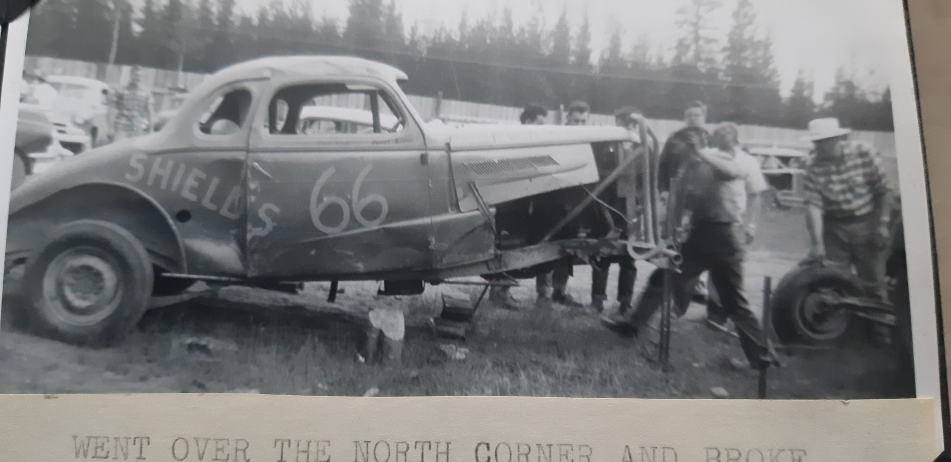 Car 66 after accident