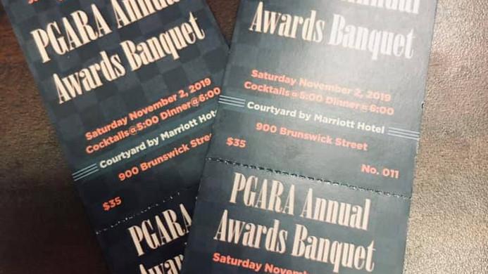 Pgara banquet tickets