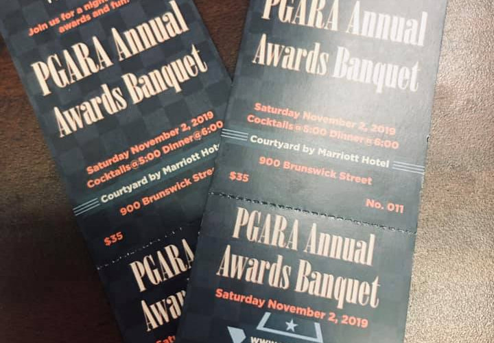 Pgara banquet tickets