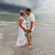 Storm Rolling in on Treasure Island Beach Florida Elopement