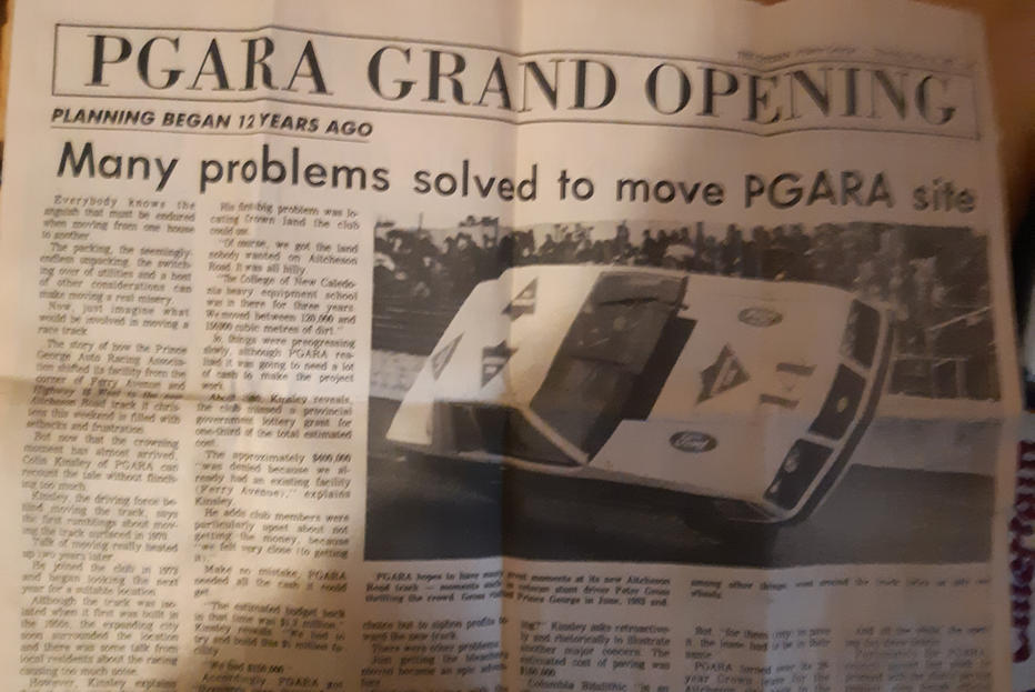 May 16 1985 Grand opening, Page 1 (top)