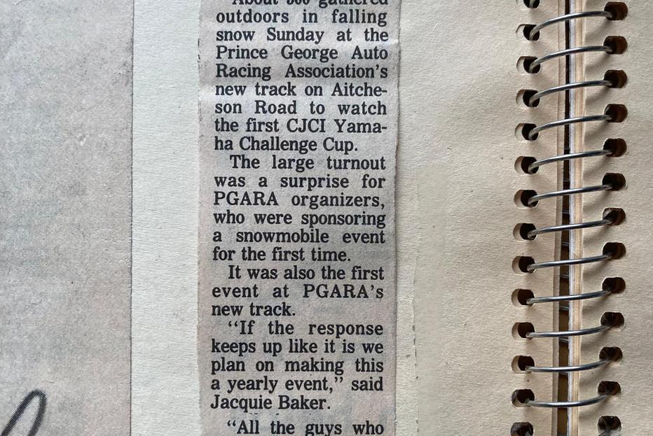 Newspaper article pg 1