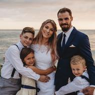 Beautiful family photo - St. John's Pass Wedding in Florida