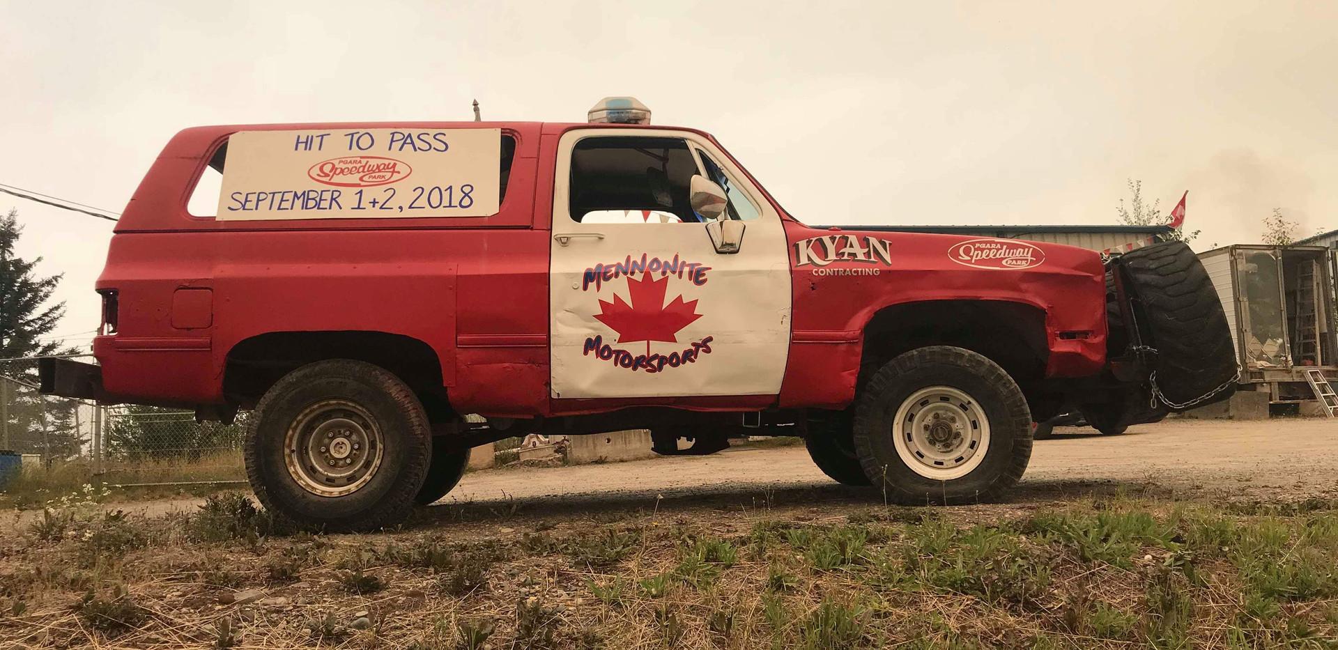 2018 HTP Crash truck