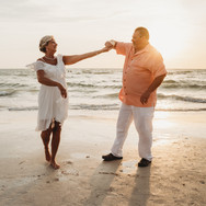 Dancing during Clearwater Beach Florida Elopement