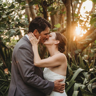 Bride and Groom at Pass-a-Grille Beach Elopement
