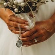Bouquet Details Bride at Pass-a-Grille Beach Wedding