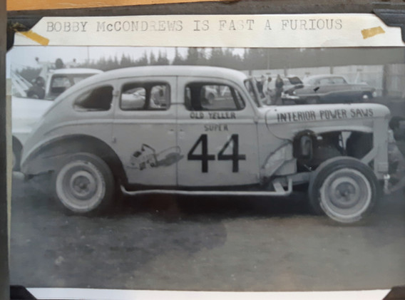 #44 Bobby McCondrews
