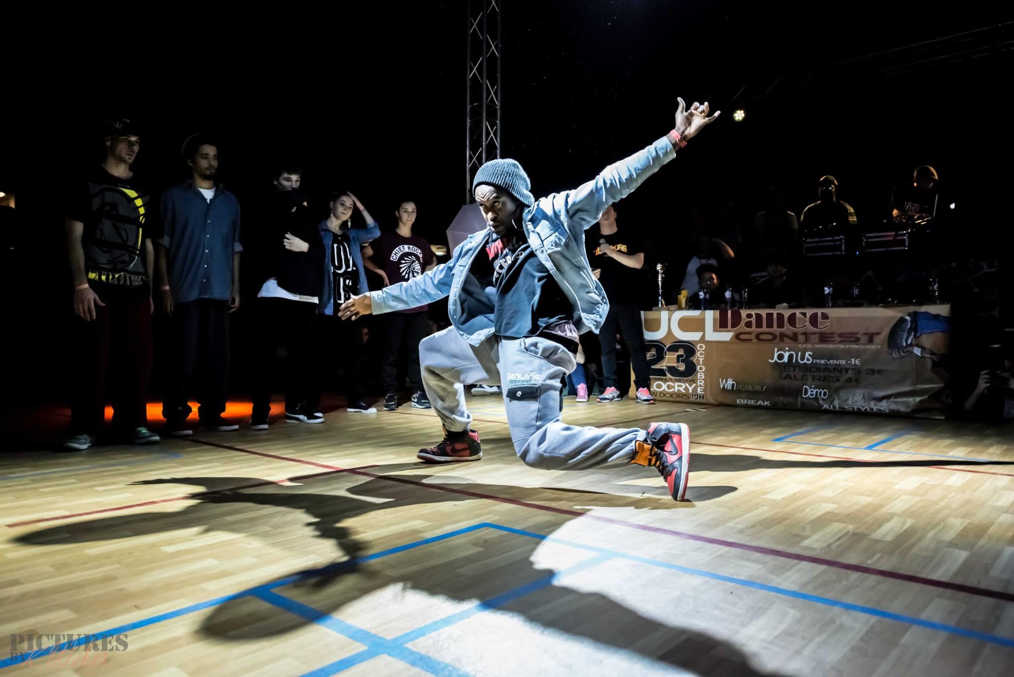Eric en pleine action ! #DanceWeCan