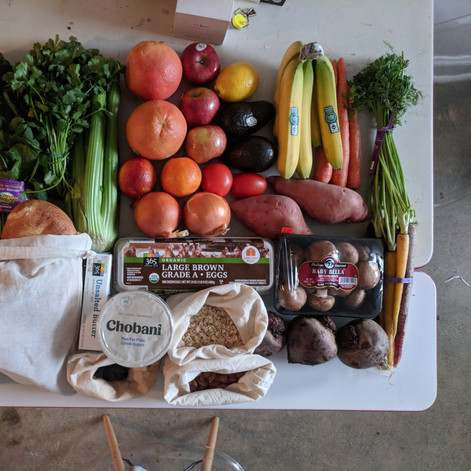 Weekly Grocery Haul