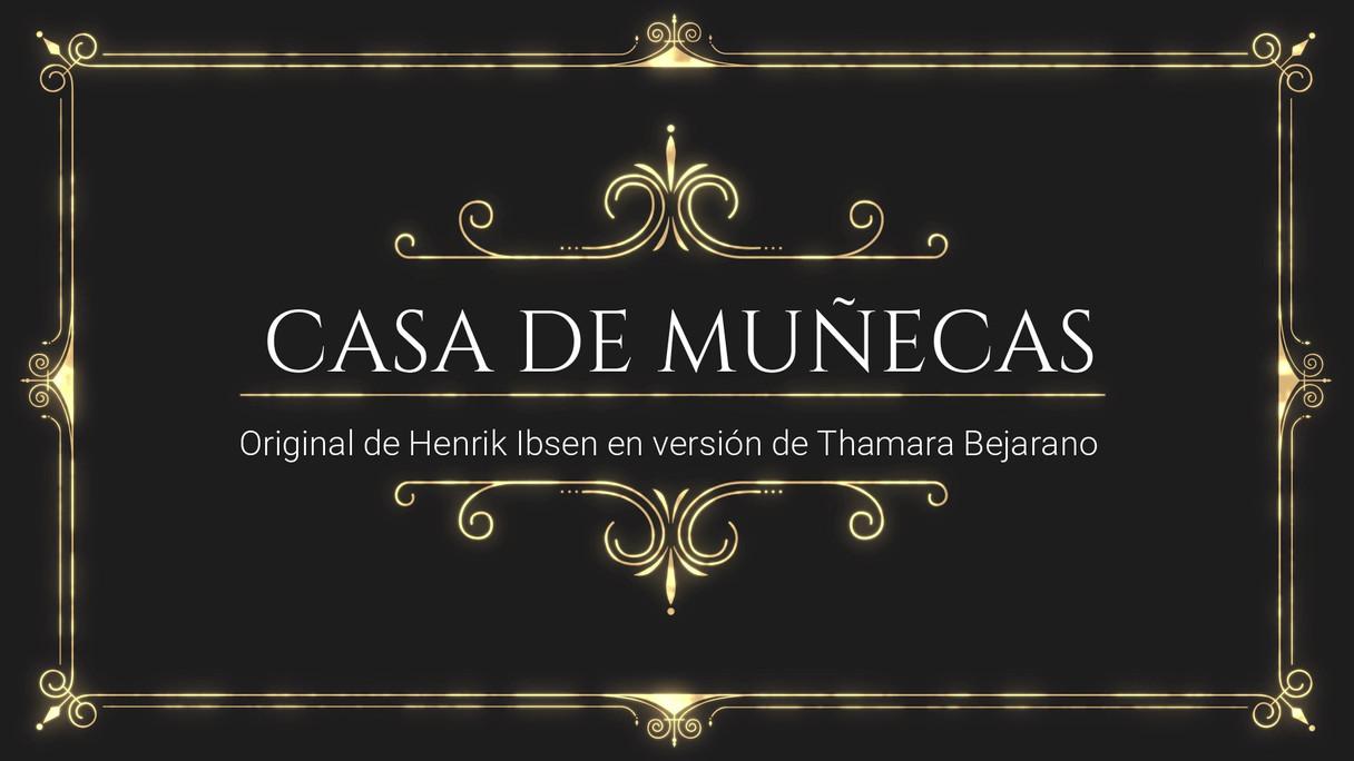 Casa de Muñecas afiche