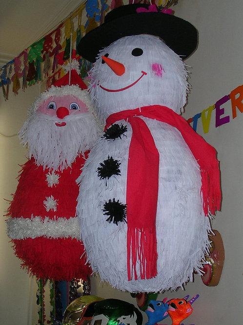 Père Noël - Bonhomme de neige