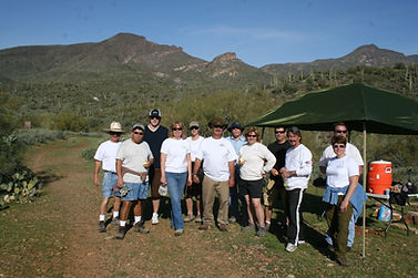 Dennis Smith - Leading Volunteer Group