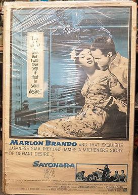 1950s-60s Movie Poster - Sayonara